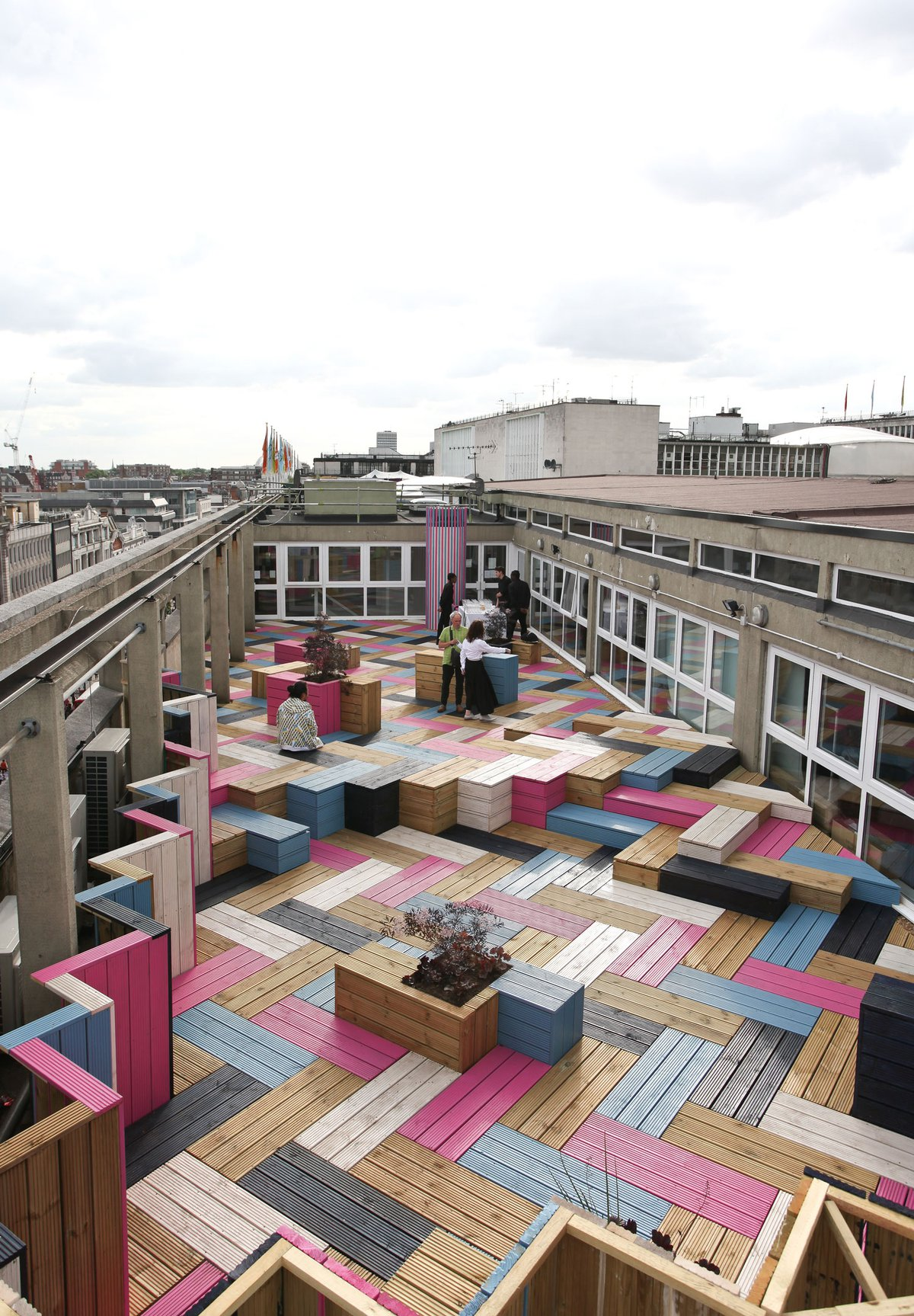 London College of Fashion Roof Garden